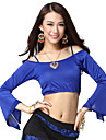Dancewear Viscose Gallus Belly Dance Top For Ladies More Colors