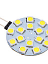 2W G4 LED a Double Broches 15 SMD 5050 150 lm Blanc Naturel AC 12 V