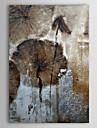 Hand målad oljemålning Abstrakt 1305-AB0573