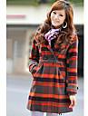 preppy haina femei cec de lână