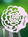 plaats kaarten en de houders bloementhema plek kaart - set van 12 (meer kleuren)