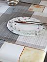 A Motifs Melange Poly/Coton Sets de table