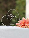Cake Toppers Personalized Heart Crystal  Cake Topper (More Designs)