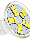 4W GU4(MR11) Spot LED MR11 15 SMD 5630 420 lm Blanc Naturel AC 12 V