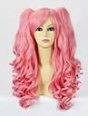 Pink Curly Pigtail 50 cm Sladká Lolita paruka