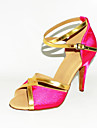 Customized Two Tone Satin Latin/Ballroom Performance Shoes (More Colors)