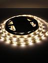 Impermeable a l\'eau 5M 30W 150x5050 SMD lumiere blanche chaude LED Strip lampe (12V, IP44)