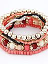 Women\'s Bohemian Style Multi-row Beaded Bracelet(Assorted Colors)