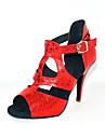 anpassade mode konstläder dansföreställning skor (fler färger)