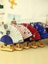 """Bumbac Ventilatoare și umbrele de soare-# Piece / Set Ventilatoare de Mână Temă Florală 15""""x8 1/3""""x 3/4""""(38cmx21cmx1cm)1""""x8"""