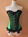 Corset Gothique Cosplay Vetrements Lolita Pour Polyester