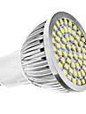 3W GU10 LED-spotlights MR16 60 SMD 3528 240 lm Naturlig vit AC 110-130 / AC 220-240 V