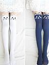 Lovely Kitty Velvet Lolita Velvet Stockings (4 Colors)
