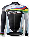 SPAKCT S13C22 Ultratunn 100% Polyester Cykling Långärmat Toppar