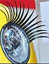 tyling till bilen - klitermärken med ögonfranmotiv
