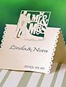 """Place Cards and Holders """"Mr & Mrs"""" Place Card - Set of 12 (More Colors)"""