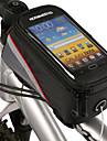 ROSWHEEL® cykel~~POS=TRUNCVäska till cykelramen / Mobilväska Touch Screen / Telefon/Iphone Cykelväska PVC Pyöräilylaukkuiphone 4/17S /