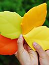 lönnlöv bärbara silikon dricka tvätt gurgla resor cup camping ficka (slumpvis färg)
