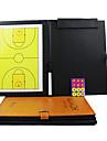 Sport Inomhus Magnetisk Folding Basketball Coaching Board (2Pens + tavelsudd + Magnets)