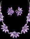 Gioielli Set Per donna Compleanno / Regalo / Festa / Occasioni speciali Parure di gioielli Lega Strass / Zircone cubicoOrecchini /