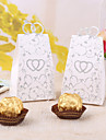 12 Piece/Set Favor Holder Card Paper Favor Boxes Heart To Heart
