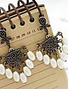 Retro Palast geschnitzten hohlen Perle Ohrringe Ohrringe Ohrringe Yiwu Schmuck E279