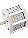 6W R7S LED-lampa 45 SMD 3014 450 lm Varmvit AC 85-265 V