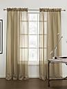 twopages® två paneler moderna rand mysiga rena gardiner draperier