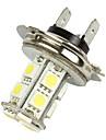 Merdia 2 st H7 Vit 13 5050 SMD LED Dimljus Head Light Bulb Lamp-LEDD001B13H7