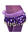 Chiffon Belly Dance Belt With 88 Coins For Ladies(More Colors)
