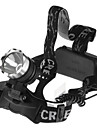 Eclairage Lampes Frontales LED 1600 Lumens 1 Mode 18650 Etanche Camping/Randonnee/Speleologie Cyclisme Peche De travail EscaladeAlliage