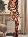 Ultra Sexy Vetement de nuit Femme Couleur Pleine Mousseline de soie