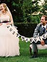 """Hochzeits-Dekor """"just married"""" Banner - Set von 11 Stueck"""