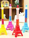 Eiffeltornet Shaped Kulspetspenna (slumpvis färg)