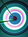Eclairage de Velo / bicyclette / Eclairage pour roues de velo / Capots de feux clignotants LED Cyclisme Etanche Lumens Batterie Cyclisme-