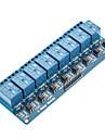 8-kanals 12v relämodul för (för Arduino) (fungerar med den officiella (för Arduino) skivor)