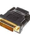DVI 24 +1 male vers HDMI V1.3 Femme adaptateur convertisseur HDTV