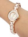 pentru Doamne Ceas La Modă Ceas Brățară imitație de diamant Quartz Bandă Alb