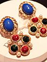 Chaopinshijia Vintage Boucles d\'oreilles Couleur Contraste (Paire)