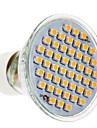 Lampada de Foco GU10 3 W 200 LM 3000 K Branco Quente 48 SMD 3020 AC 220-240 V