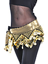 Belly Dance Belt Women\'s Polyester Beading / Coins Black / Purple / Royal Blue / Yellow Belly Dance / BallroomSpring, Fall, Winter,