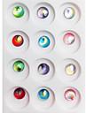 12PCS Flera färger blänker Mini Shell Nail Art dekorationer