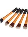 5in1 Nylon Powder Brush (Guld)
