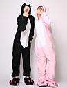 Kigurumi Pyjamas Gris Leotard/Onesie Festival/Högtid Animal Sovplagg Halloween svart Lappverk Korallfleece Kigurumi För Unisex Halloween