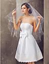 One-tier Elbow Wedding Veil