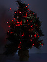4M 3W 40 LED 210LM Red Light bande LED pour des decorations de Noel
