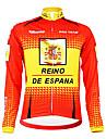 Kooplus Veste de Cyclisme Homme Manches longues Velo Respirable Garder au chaud Doublure Polaire Permeabilite a l\'humidite Vestimentaire