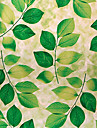 Land Fresh Style Grön Lämnar Mönster fönsterfilm