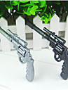 fraiche renouvelable stylo a la conception de pistolet a bille (couleur aleatoire, 2 pcs)