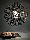 Coral konstruktion hängande, 1 ljus, järn akrylmålning